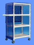 Aqua Creek PVC Linen Cart + Shelf