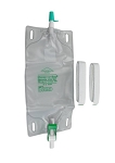 Bard Dispoz-a-Bag with Flip-Flo Valve & Fabric Leg Straps
