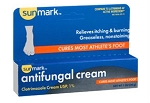Sunmark Athlete's Foot Cream 1 oz Tube