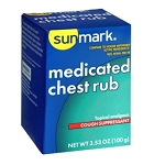 Sunmark Medicated Chest Rub - 3.5 oz. Jar