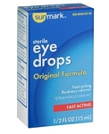 Sunmark Lubricant Eye Drops - 0.5 oz