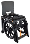 WheelAble Folding Shower Commode Chair
