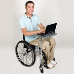 ezTray Portable Wheelchair Tray