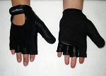 Wheelchair Gloves, 3/4 Finger w/ Full Thumb