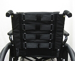 Slip On Adjustable Padded Wheelchair Back