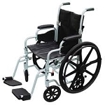Poly Flight Transport Chair/Wheelchair