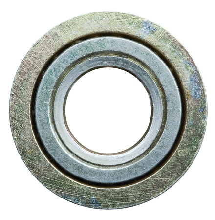 Flanged Caster Stem Bearing, 1/2