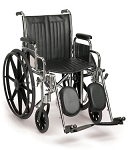 Breezy EC 2000 Standard Wheelchair