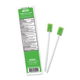 Sage Toothette Plus Swabs with Antiseptic Oral Rinse