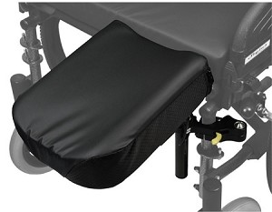 Swing-Away Amputee Wheelchair Attachment