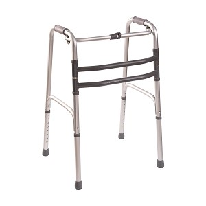 DMI Single-Release Folding Walker - 2 pack