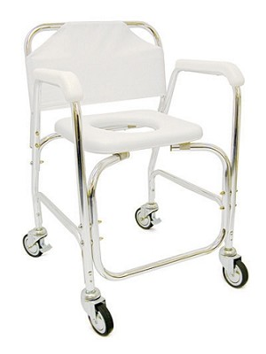 Padded Shower Transport Chair