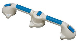 Suction Cup Grab Bar with 180° Swivel Action