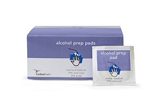 Cardinal Sterile 70% Alcohol Prep - Box of 200