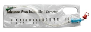 Hollister Advance Plus Touch-Free Intermittent Catheter - Coude Tip