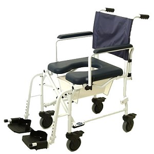 "Invacare Mariner Rehab Shower Chair with 5"" Casters"