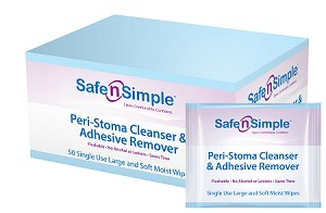 Peri-Stoma Cleanser & Adhesive Remover - Box of 50