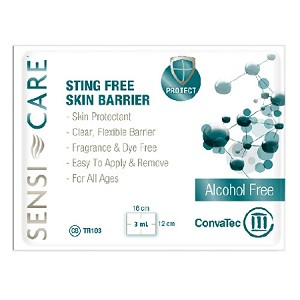 Sensi-Care Sting Free Skin Barrier Wipes - Box of 30