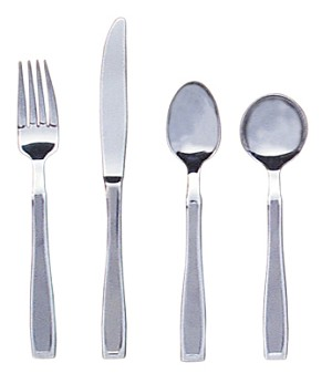 Stainless Steel Straight Weighted Cutlery (sold individually)