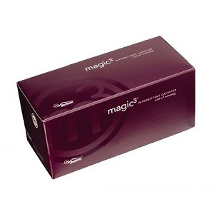 Magic3 Antibacterial Hydrophilic Male Intermittent Catheters