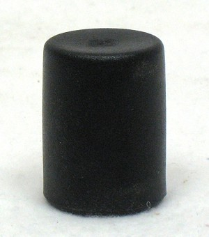 Black Tipping Lever Sleeve, Fits 7/8""
