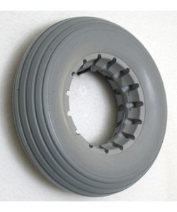 "Urethane Multi-Rib Wheelchair Tire - 7 x 2"" (180 x 50)"