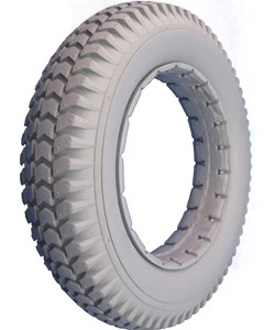 "Urethane Knobby Wheelchair Tire - 14 x 3"" (3.00-8)"