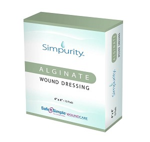 Simpurity Alginate Wound Dressings