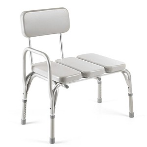 Invacare Padded Vinyl Transfer Bench