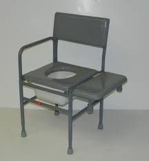 ActiveAid Series 277 Stainless Steel Tub Commode Chair