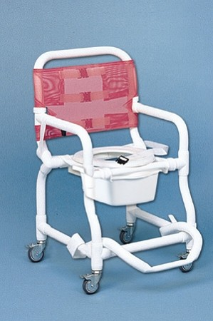 Duralife Deluxe Shower Commode Chair