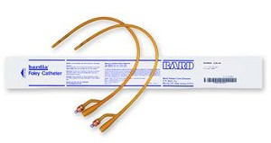 Bardia Silicone Elastomer Latex Foley Catheter