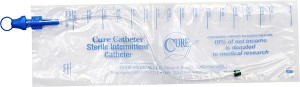 Cure Catheter Closed System - Singles