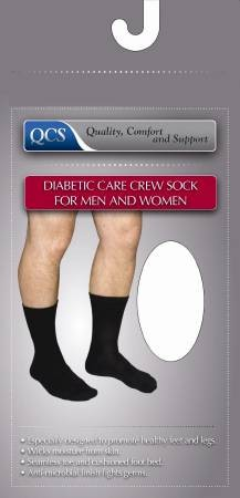 Diabetic Crew Socks for Men & Women