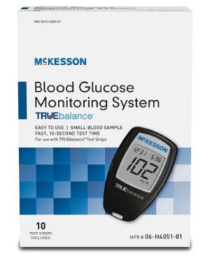 McKesson TRUEbalance Blood Glucose Monitoring System