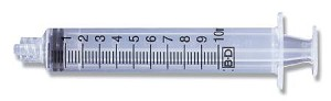 BD Conventional Syringe without Needle - Slip Tip
