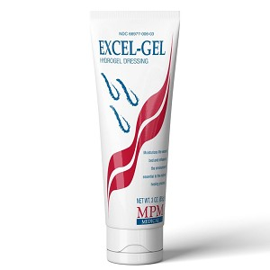 MPM Medical Excel-Gel Hydrogel Dressing 1 oz. Tube