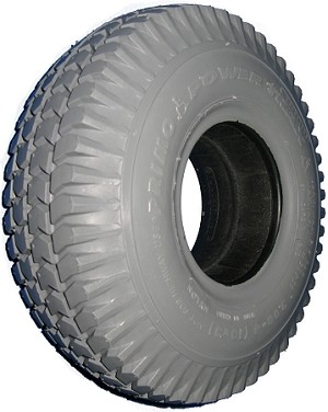 "Primo Power Trax Foam Filled Tire - 10 x 3"" (260-85)(3.00-4)"
