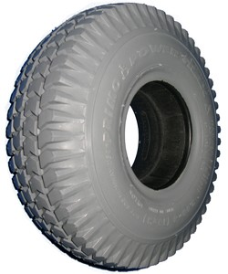"Primo Power Trax Heavy Duty Foam Filled Tire - 10 x 3"" (260-85)(3.00-4)"