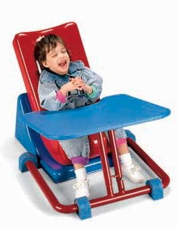 Standalone Adjustable Feeder Seat Tray
