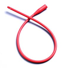 Hollister Apogee IC Red Rubber Intermittent Catheters