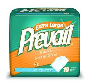 "Prevail Premium Super Absorbent Underpad, 30"" x 36"""