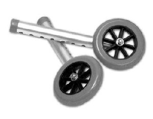 "5"" Universal Walker Wheel Kit"