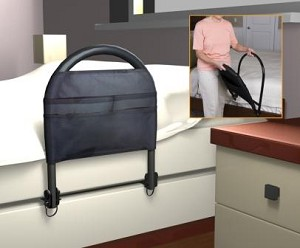 Bed Rail Advantage Traveler With Organizer