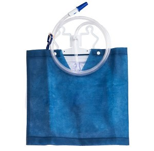 McKesson Pre-Covered Urinary Drainage Bag with Anti-Reflux Drip Chamber and Valve
