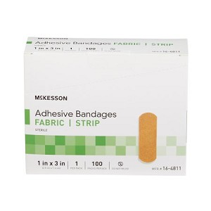 McKesson Adhesive Fabric Bandages