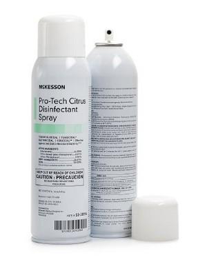 McKesson Pro-Tech Citrus Disinfectant Spray 16 oz. Bottle