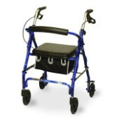 Junior Rollator with Loop Brakes & Basket