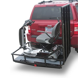 Hitch Mounted Carrier with 4' Ramp - MT3000