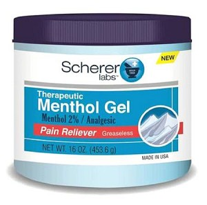 Scherer Labs Therapeutic Menthol Gel